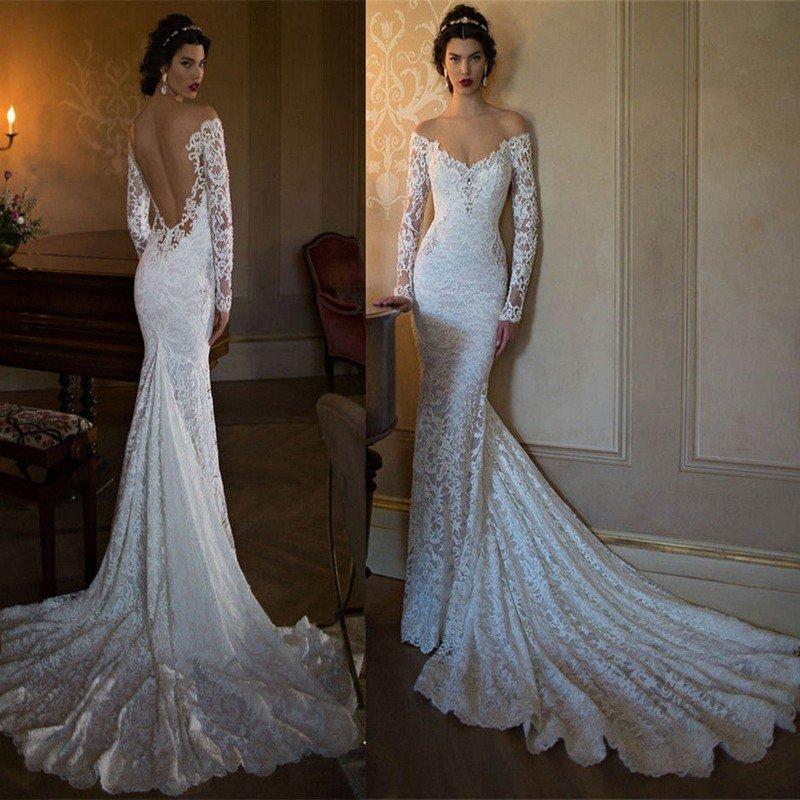 Кружевные свадебные платья фото цена