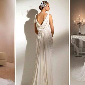 Весільні сукні у грецькому стилі: стильно, елегантно, вишукано