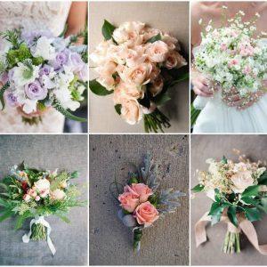 Букет нареченої з кущових троянд: вибираємо форму і колір