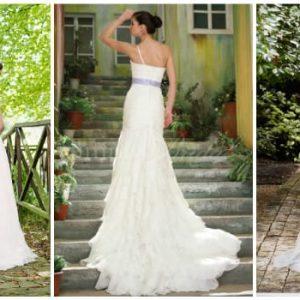 Весільні сукні з відкритою спиною: фото та ідеї фасонів