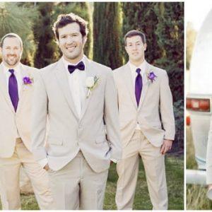 Сірий костюм на весілля для нареченого: фото та ідеї образу