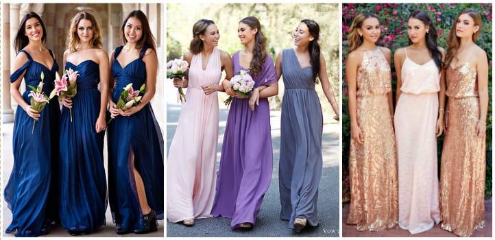 eca8dd20748035 Сукні для подружок нареченої: фото і варіанти фасонів | Весілля