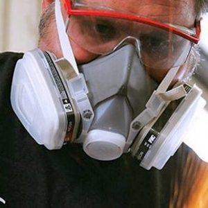 Розбираємося який респіратор краще захищає від пилу