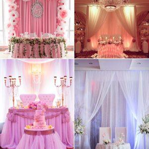 Прикраса залу на весілля: поради та ідеї з фото