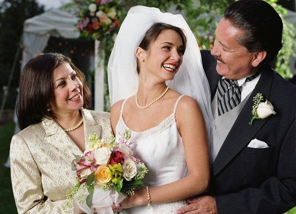 Популярные поздравления родителей на свадьбу