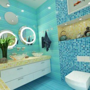 Ванна в морському стилі: правила оформлення