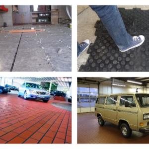 Керамограніт і плитка для гаража на підлогу: особливості вибору