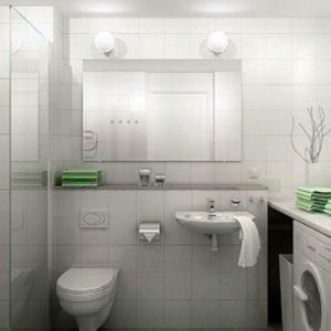 Дизайн маленької ванної кімнати без туалету фото-ідеї