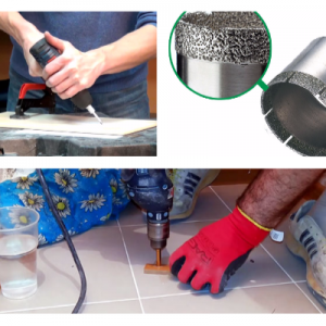 Чим просвердлити керамогранітную плитку: інструменти, добори