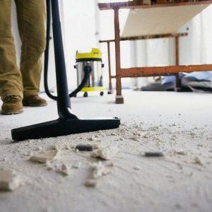 Як прибрати будівельний пил після ремонту