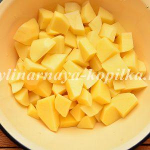 Жульєн з куркою, грибами і картоплею в духовці: рецепт з фото