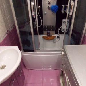 Дизайн ванної кімнати маленького розміру без туалету