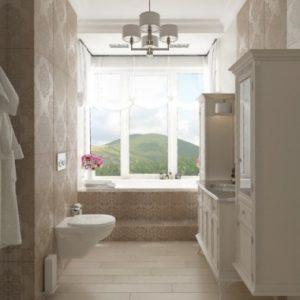 Оригінальні ідеї та фото дизайнів ванної кімнати з вікном