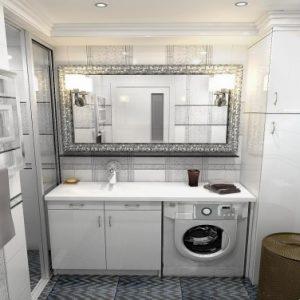Дизайн маленької ванної з вікном – оригінальні ідеї