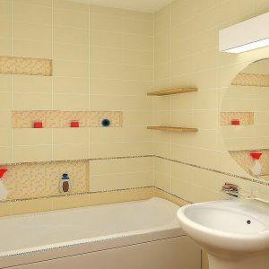 Ніша у ванній: призначення, застосування, декор
