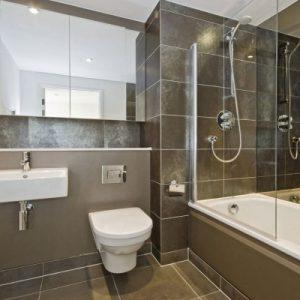 Суміщений санвузол з ванною – дизайн-ідеї та фото