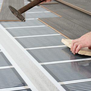 Як правильно укласти тепла підлога під паркетну дошку