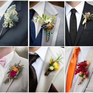 Бутоньєрка для нареченого: фото та ідеї оформлення
