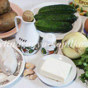 Салат «Гніздо глухаря»: класичний рецепт (покроковий з фото)