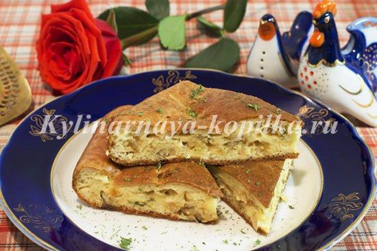 быстрый пирог с капустой на майонезе и сметане пошаговый рецепт