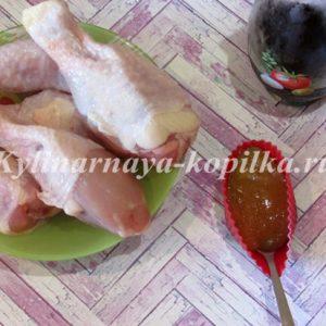 Курячі ніжки в медово-соєвому соусі в духовці: рецепт з фото