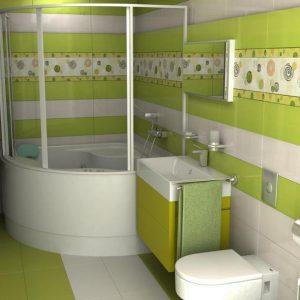 Зелена ванна кімната: впустіть свіжість в інтер'єр