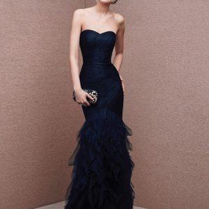 Модні вечірні сукні годе — самий шикарний фасон вечірнього вбрання