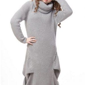 Модні в'язані сукні: як і з чим носити в'язане плаття