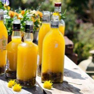 Вино з кульбаб: рецепт приготування напою в домашніх умовах