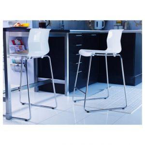 Барні стільці для кухні ІКЕА, фото каталог моделей