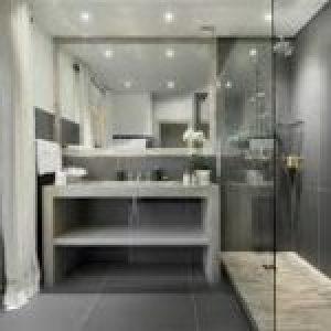Дизайн ванної кімнати 7 кв. м, приклади розміщення і планування санвузла.