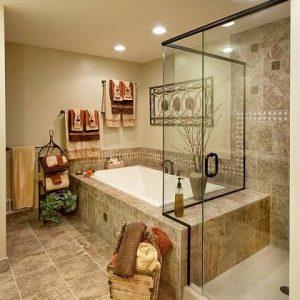 Дизайн ванної кімнати в бежевому тоні, 30 ідей для втілення