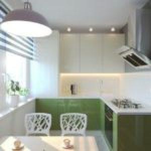 Ідеї дизайну маленької кухні (9 квадратів) з фотографіями