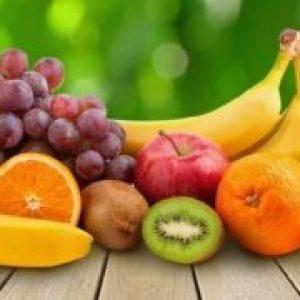 Калорійність свіжих фруктів, таблиця калорійності на 100 грам