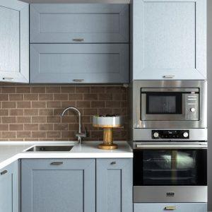 Кухонні гарнітури для маленької кухні в хрущовці, фото
