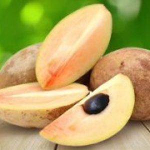 Саподілла (ламут) екзотичний фрукт, смак, користь, склад